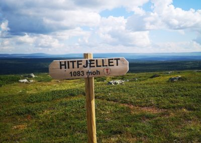 Hike to Hitfjell